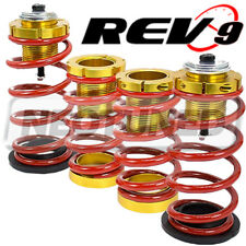 For Honda Civic 12-15 (All Models) Lowering Spring w/ Hi-Low Sleeve Kit Red/Gold