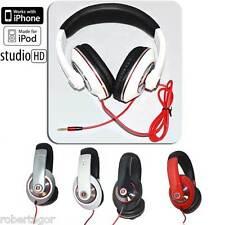 CUFFIE STEREO PER SMARTPHONE TABLET IPOD MP3 PC SPORT CON CONTROLLO CHIAMATA 6788d8e8c0fc