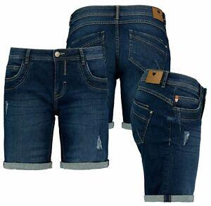 Sublevel Damen Jeans Shorts Bermuda Kurze Hose Shorts Short Denim Stretch Denim