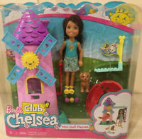 *NEW* Barbie Club Chelsea Mini Golf Doll and Playset