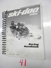 2005  SKI-DOO SNOWMOBILE  RACING HANDBOOK SERVICE MANUAL P/N 484 200 063  (854))