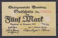 Bamberg - Stadtgemeinde - 5 Mark