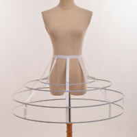 Elizabeth Crinoline Cage Underskirt Costume Hoop Skirt Pannier Bustle Petticoat
