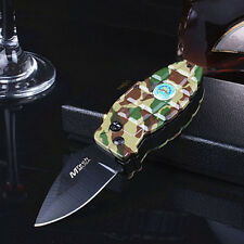 Multi Windproof Folding Blade Refillable Butane Gas Camouflage Cigarette Lighter