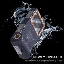 Universal 15M Depth Professional Waterproof Diving Phone Case For iPhone Samsung