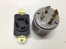 L14-30P locking plup / receptacle L14-30R combination Made in U.S.A. Brand New