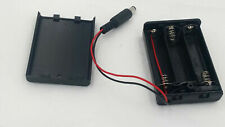 3 AA Battery Pack Holder Box Case 4.5V ON/OFF Switch DC 2.1 Power Plug