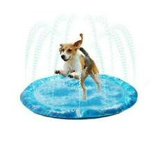 More details for keep dogs cool in hot weather sprinkler fun mat water products for pets