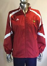 Vintage Adidas, Cardinals Youth 14/16, Zipped Front Track Jacket, Red