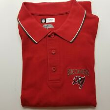 New listing NFL Apparel Tampa Bay Buccaneers Men's Classic-Fit golf shirt RED size XL