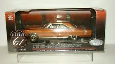 1/18 Highway 61 1967 Plymouth GTX orange/black stripes w/box