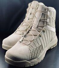 "NEW Under Armour Tactical Stryker Desert Sands 6"" Boots 1299242-290 Size 11.5"