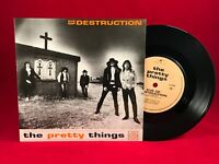"THE PRETTY THINGS Eve Of Destruction 1989 UK 7"" vinyl single EXCELLENT CONDITION"