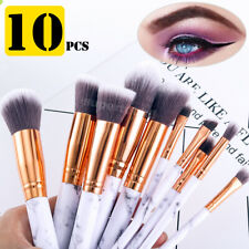 10pcs Professional Makeup Brush Set Foundation Blusher Cosmetic Make-up Brushes