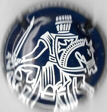Capsule de CHAMPAGNE Taittinger bleu nuit et blanc Prélude