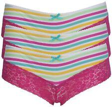 Ex Store Multi Pack Brazilian Lace Knickers