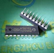 2PCS MT8870DE MT8870 CMOS LOW POWER DTMF DECODER RECEIVER NEW