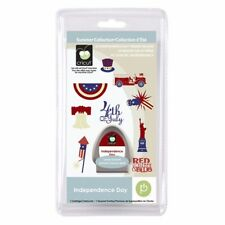 Cricut Solutions Independence Day 2010 Cartridge Craft Card Paper Craft
