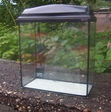 Aquarium 32 Liter mit Abdeckung - Beleuchtung Garnelen- Krebs- Aufzuchtbecken