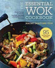 THE ESSENTIAL WOK COOKBOOK - IMATOME-YUN, NAOMI - NEW PAPERBACK BOOK