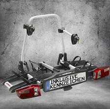 UEBLER Fahrradträger Heckträger für 2 Fahrräder inkl. Gratis Kennzeichen X21S