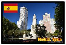 MADRID, SPAIN - SOUVENIR JUMBO FRIDGE MAGNET - NEW - GIFT / BIRTHDAY / XMAS