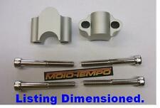 CNC 30mm BAR RAISERS RISERS FOR APRILIA  Touno RS 50 125 2003 2004 2005