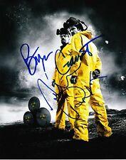 Aaron Paul & Bryan Cranston ++ Autogramm ++ Breaking ++ Autograph