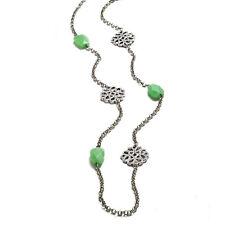 "Park Lane ""Mint Julep"" 36"" Necklace..orig $124...Genuine Aventurine Gems..Pretty"