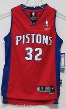 NWT NBA REEBOK SWINGMAN JERSEY-RICHARD HAMILTON DETROIT PISTONS RED YOUTH SMALL