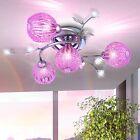 Plafonnier Design Lampe suspension Lampe pendante Lustre Violet