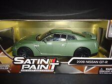 Motormax Nissan GT-R R35 Matt Green 1/24