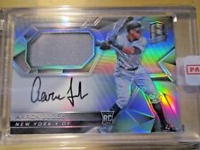 2017 Panini Spectra Aaron Judge On Card Auto Jersey Patch RPA Yankees Star