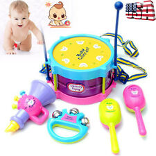 Baby Kids Roll Drum Musical Instruments Child Educational Developmental Toy Gift