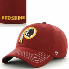 '47 Brand Washington Redskins Game Time Closer Stretch Fit Cap*NEW*FREE SHIPPING