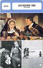 Fiche Cinéma évènements. Movie Card Events. Les Oscars 1966 (USA) 39e année