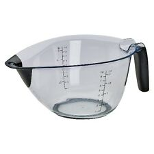 Kitchenaid Batter Bowl 8 Cup Measure Marks Easy Pour Non Slip Handle Black New