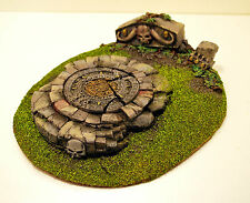 Warhammer Fantasy/Age of Sigmar ARCANE JUNGLE HILL SCENERY PRO PAINTED