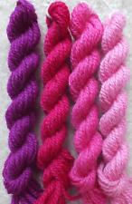 Vintage Fuschia Shades (pre-1980) Paternayan Persian Wool