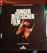 Junger Deutscher Film Il nuovo cinema tedesco A cura di Spagnoletti