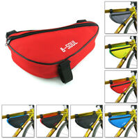 B-SOUL Triangle Bags Saddle Cycling Bicycle Pouch Pannier Bike Front Tube Frame
