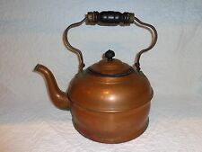 "Antique ""Majestic"" Copper Tea Kettle"