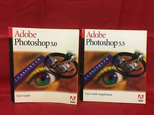 Adobe Photoshop 5.0 Win/Mac User Guide Book, No Software