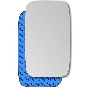 Right wing self adhesive mirror glass for Nissan Cabstar 1992-2007 879RS