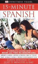 15-minute Spanish (Book and CD Edition) (DK 15-Minute Language Guides) DK Publi