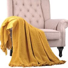 Home Soft Things Knitted Throw Throw Sofa Couch Blanket Home Decor Cover 2 Sizes