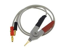 Hq Lcr Meter Cable w/ Banana Plug Connectors kelvin clip Smd