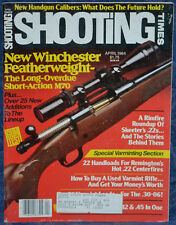 Magazine SHOOTING TIMES, April 1984 WALTHER Model P5 9mm DA PISTOL, T/C Cherokee