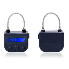 1x Multipurpose Time Lock For Ankle Handcuffs Mouth Gag Electronic Timer Bondage