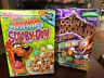 1999 GM COUNT CHOCULA Cereal Box SCOOBY-DOO & Kellogg's Cinnamon Marshmallow Box
